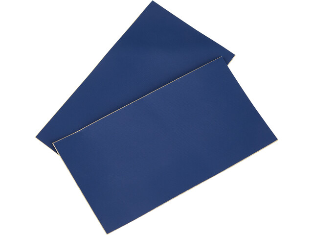 CAMPZ Parches Reparadores PVC 2 Piezas, azul